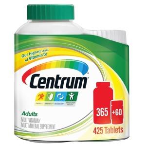 (해외) 센트룸 성인 남녀 공용 멀티비타민 425정
