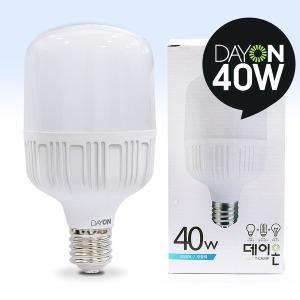 원통 LED전구 LED벌브 현관조명 / LED보안등 40W E39