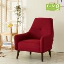 에나1인용쇼파/패브릭(레드)/1인쇼파/디자인의자/의자