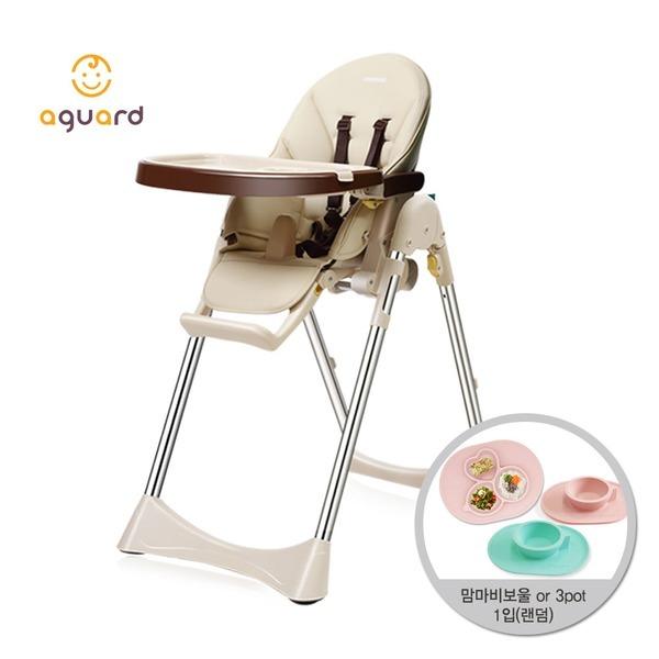 아이슬라이드 하이체어 베이지1입 유아 아기 식탁의자