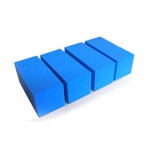 도어가드 자동차 문콕 방지 가드 -스폰지 70 블루