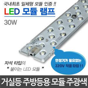 LED모듈램프 220V 30W 주광색 LED모듈 LED전구