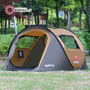 로티캠프 그늘막 원터치 팝업 텐트 자동 캠핑 낚시