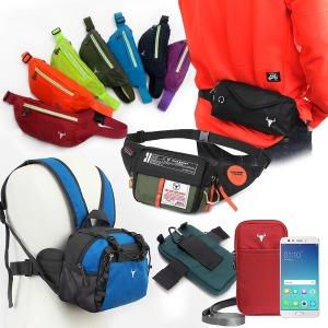 아웃도어가방 스마트폰파우치 힙색 보조가방 등산캠핑