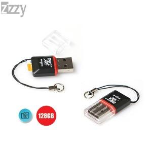시드넷 메모리 마이크로SD 카드리더기/128GB 지원