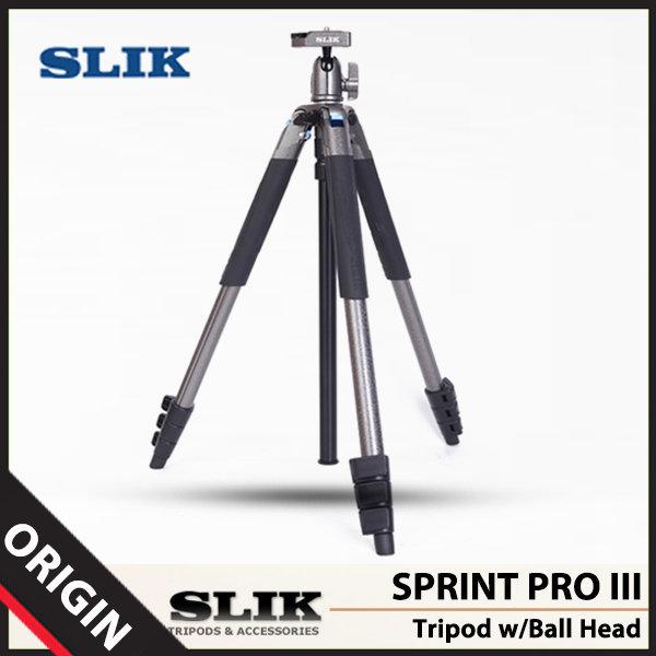 슬릭 SLIK SPRINT PRO III 삼각대 (볼헤드포함)