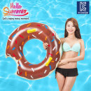 초코 도넛 튜브 126cm