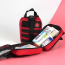 구급낭 XL 크로스 레드 13종약품 응급키트 구급가방