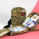 구급낭 XL 크로스 카모 13종약품 응급키트 구급가방