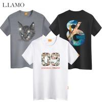 엘라모 ~4XL 빅사이즈 여름반팔 티셔츠 남녀공용 커플