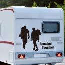 트레킹 차량 캠핑스티커