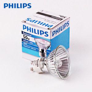 필립스 할로겐 램프 GU10 50W 220V
