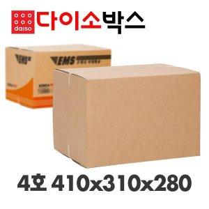 프리미엄 우체국박스 4호 (410x310x280) (6장)