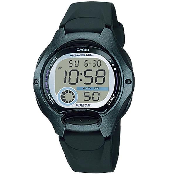 카시오정품 LW-200-1B 어린이 아동 학생 전자손목시계