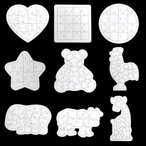 종이퍼즐 종이 퍼즐판 퍼즐 만들기 합죽선 부채