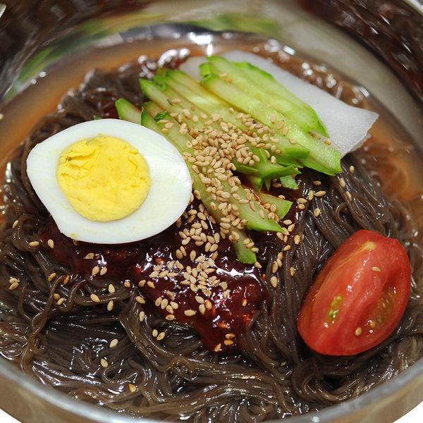 옥천냉면2kg 10인분/동치미육수/비빔장500g+겨자소스