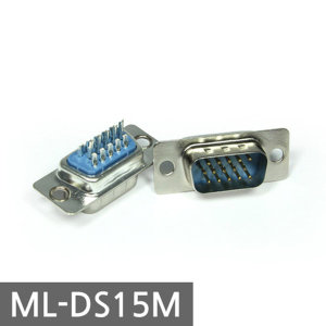 D-SUB 3열 15핀 제작용 수 커넥터 ML-DS15M 당일발송