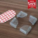 (KIMOS)투명 모서리 보호대 4P세트 유아안전용품 코너