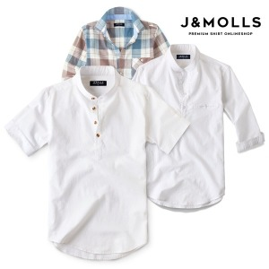 여름용 린넨셔츠 남성 BEST 셔츠/남방/반팔/와이셔츠