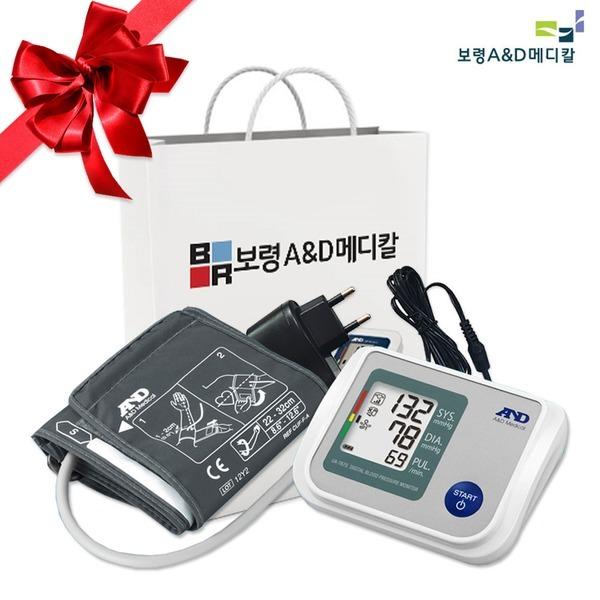 VT 팔뚝형 자동혈압계 UA-767S+혈당계+쇼핑백+아답터