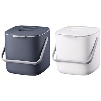 [오피스존] 시스맥스 음식물 쓰레기통(53200) 채반 내통 분리형