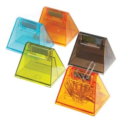 [매표] 매표 자석 클립통 (삼각) 크립통 삼각핀통 케이스