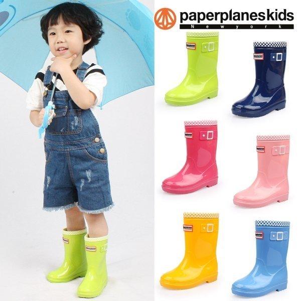 페이퍼플레인 키즈 PK7762 아동 장화 레인부츠
