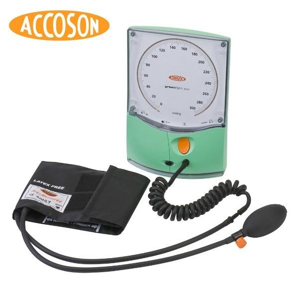 Accoson  반자동 메타혈압계 Greenlight300
