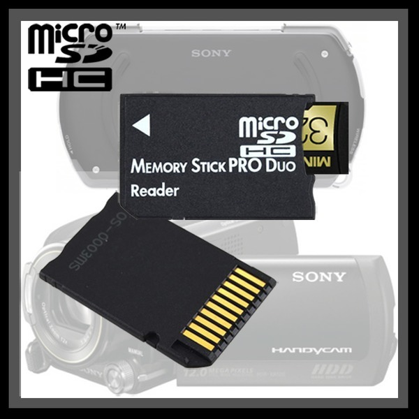 MS pro duo 메모리스틱 듀오 어댑터 아답터 PSP메모리