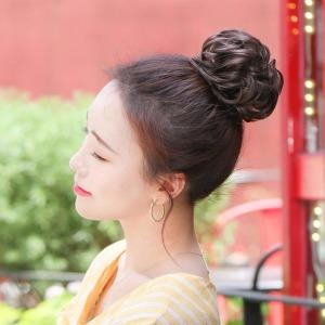예쁜 올림머리 당고머리 곱창가발 똥머리가발
