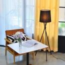 올루미 트리니티 미니스탠드 (블랙) +LED램프 전구색
