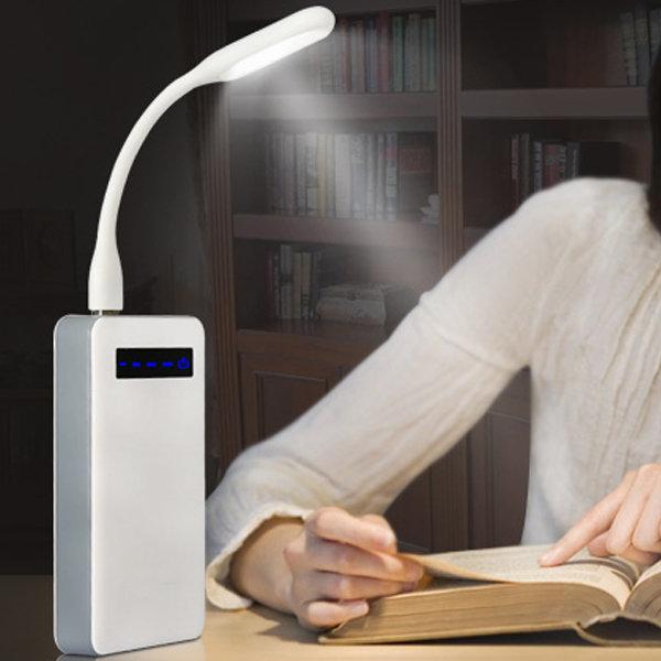 휴대간편 각도조절가능 USB LED스텐드 독서등 취침등