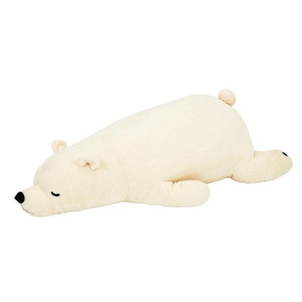 (바보디자인)북극곰오리털바디필로우