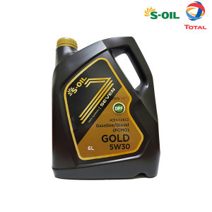 7GOLD S-OIL 세븐골드 5W30 6L 합성엔진오일
