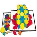 EDU0264 패턴블록 디자인 카드