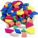 EDU0634 플라스틱 패턴 블록 (Set of 100)