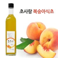 초사랑 복숭아식초 500ml/천연발효식초