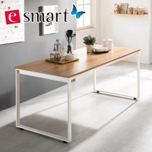e스마트 스틸 테이블 1800x800 사각다리