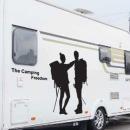 차량용 캠핑 스티커