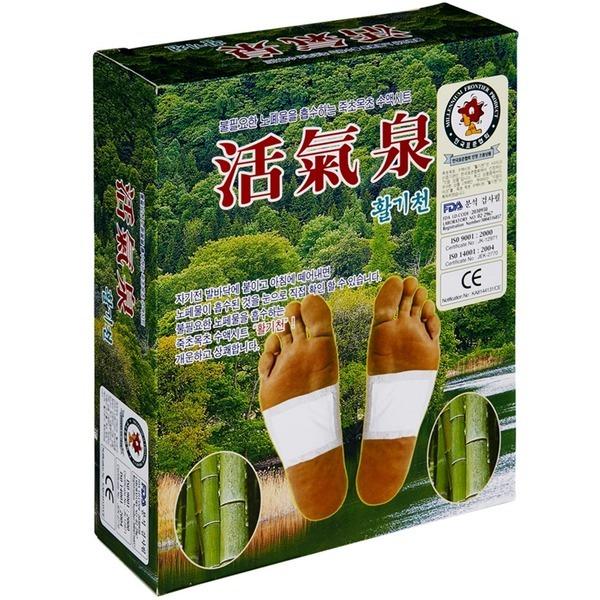 발바닥패치 죽초목초 수액시트 활기천 1상자-30매 발팩