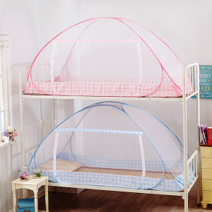 이층침대 원터치 모기장/기숙사/2층침대/방충망/텐트