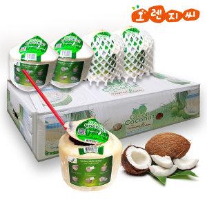코코넛 열대과일 코코넛 12과 10.5kg 1박스 태국산
