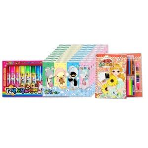 스케치북 20권 대용량(20매)10권 생일선물 단체선물