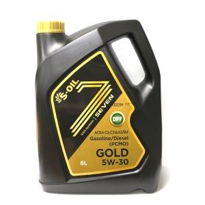 S-OIL 에스오일 7 GOLD 세븐골드 5W30 6L