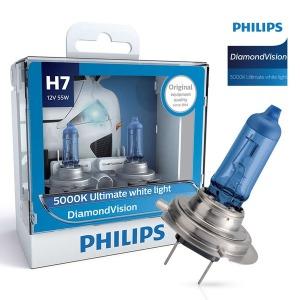 필립스 다이아몬드비젼 5000K/전조등/안개등