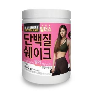 빌더스 단백질 쉐이크 식사대용 보충제 딸기 600g