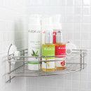 글라스터 스텐 욕실 코너선반/흡착 욕실선반/욕실용품