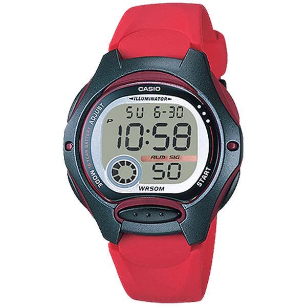 카시오정품 LW-200-4A 어린이 아동 학생 전자손목시계