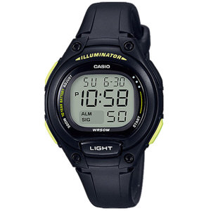 카시오정품 LW-203-1B 어린이 아동 학생 전자손목시계