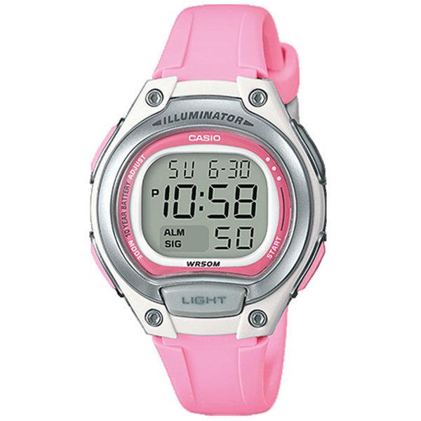 카시오정품 LW-203-4A 어린이 아동 학생 전자손목시계